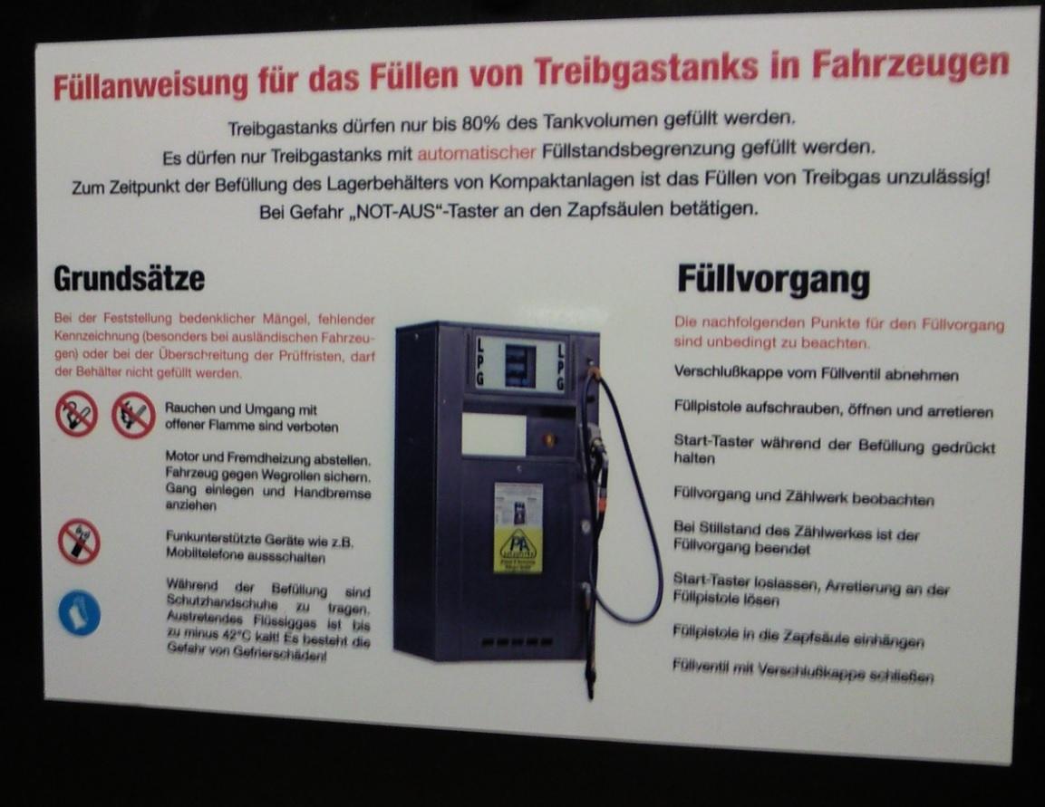 Autogas Tankhilfe und Info